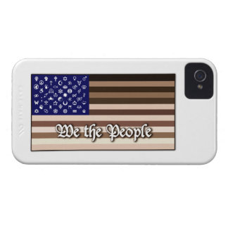 We the People Flag iPhone 4 Case