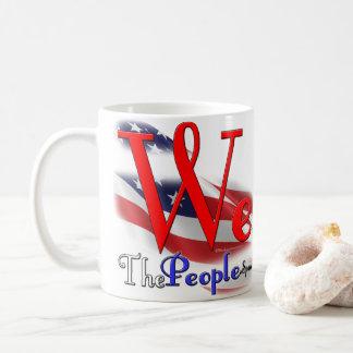 We The People Flag Logo Mug