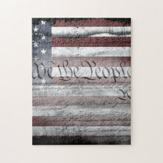We the People Industrial Flag Puzzle