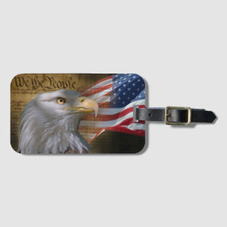 We The People Luggage Tag