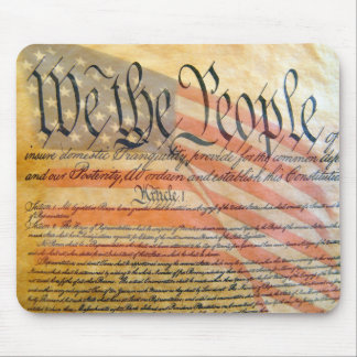 """""""We The People"""" Mouse Pad"""