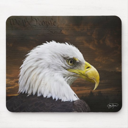We the People Mouse Pad