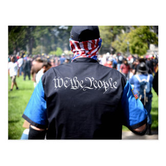 WE THE PEOPLE... POSTCARD