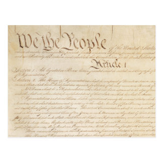 We the People Postcard
