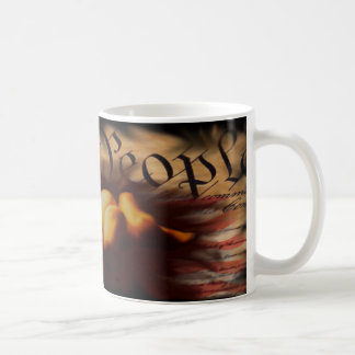 We the People Pray Coffee Cup