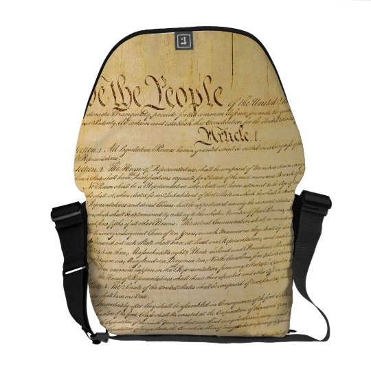 We The People Rickshaw Messenger Bag