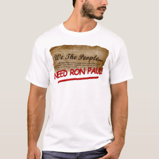 we the people ron paul copy T-Shirt