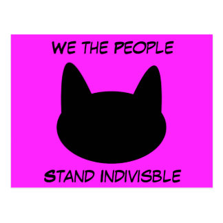 We the People Stand United Postcards