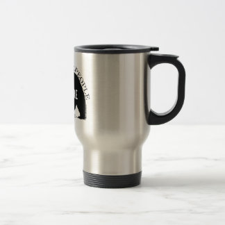 We the people stand up for nature - bear travel mug