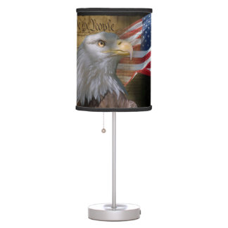 We The People Table Lamp