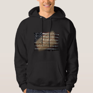 We The People Vintage American Flag Hoodie