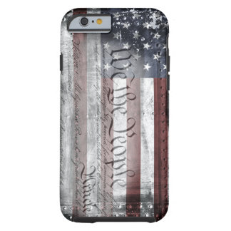 We The People Vintage American Flag iPhone 6 Case Tough iPhone 6 Case
