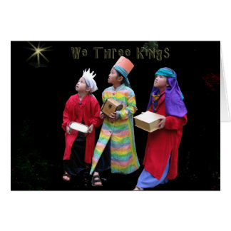 We Three Kings III Card