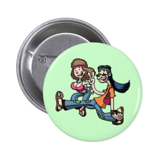We Truck In Peace Pins