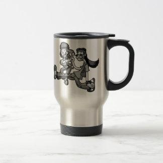 We Truck In Peace Mug
