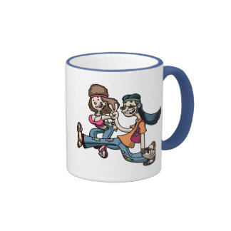We Truck In Peace Mugs