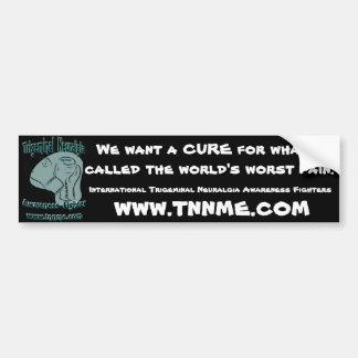 We want a CURE bumper sticker. Bumper Sticker