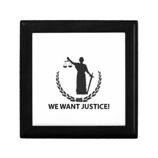 We Want Justice Gift Box
