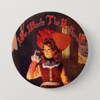 We Wants The Redhead 3-inch  Button