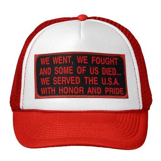 WE WENT WE DIED MESH HAT
