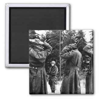 We were getting our second wind_War Image Square Magnet