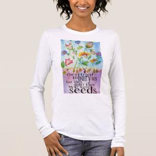We Were Seeds women's Long Sleeve T-Shirt