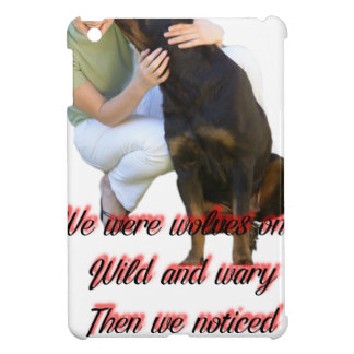 We were wolves once iPad mini case