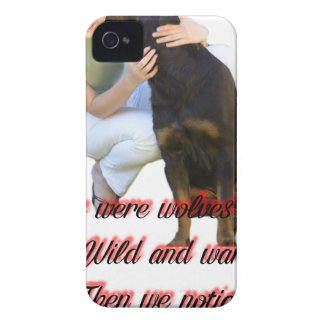 We were wolves once iPhone 4 case