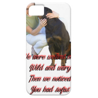 We were wolves once iPhone 5 case