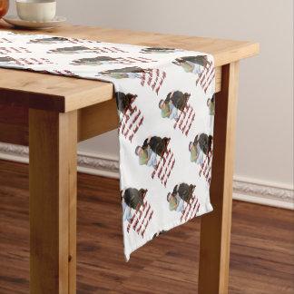 We were wolves once short table runner