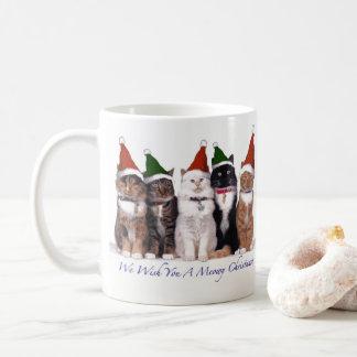 We Wish You A Meowy Christmas Mug