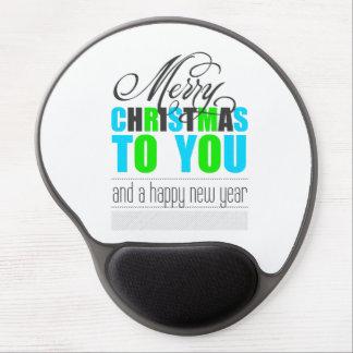 We wish you à Merry Carte de voeux and à Happy New Tapis De Souris Gel