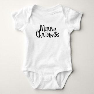 We Wish You a Merry Christmas Baby Bodysuit