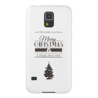 We wish you to Merry Christmas and to Happy New Galaxy S5 Cover