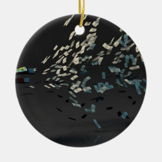 Wealth Management and Financial Planning Ceramic Ornament