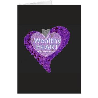 Wealthy HeArt Card