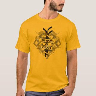 Weapon Of Choice (Hockey) T-Shirt