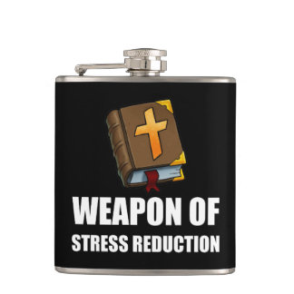 Weapon of Stress Reduction Bible Flasks
