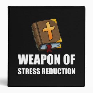 Weapon of Stress Reduction Bible Vinyl Binder