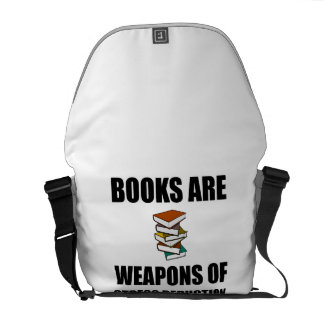 Weapon of Stress Reduction Books Courier Bags