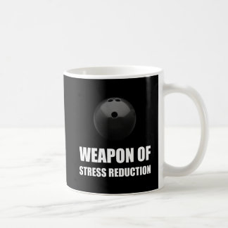 Weapon of Stress Reduction Bowling Coffee Mug