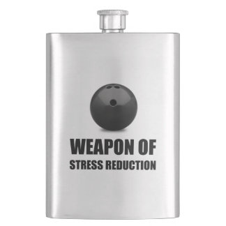 Weapon of Stress Reduction Bowling Flasks