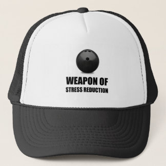Weapon of Stress Reduction Bowling Trucker Hat
