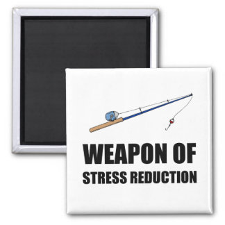 Weapon of Stress Reduction Fishing Square Magnet