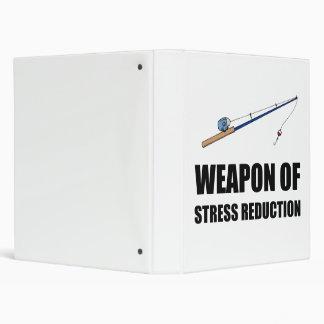 Weapon of Stress Reduction Fishing Vinyl Binders