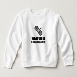 Weapon of Stress Reduction Gaming Sweatshirt