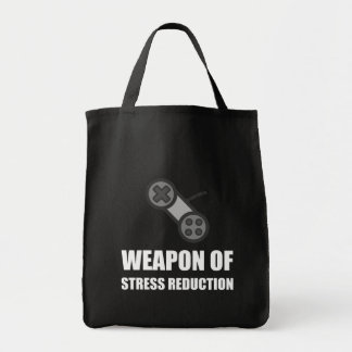 Weapon of Stress Reduction Gaming Tote Bag