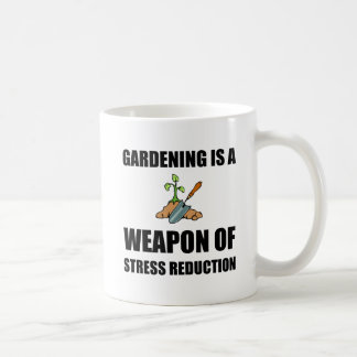 Weapon of Stress Reduction Gardening Coffee Mug