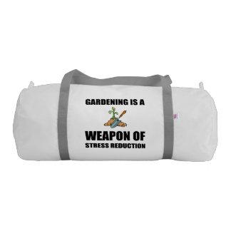 Weapon of Stress Reduction Gardening Gym Bag
