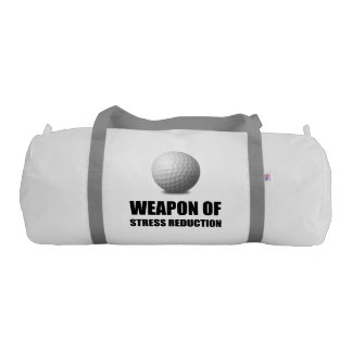 Weapon of Stress Reduction Golf Gym Bag